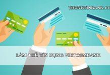 lam the tin dung vietcombank online