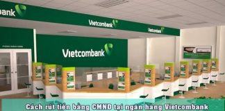 rut tien bang chung minh thu vietcombank