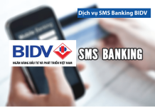 doi so dien thoai sms banking bidv