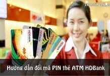 cach doi ma pin the atm hdbank