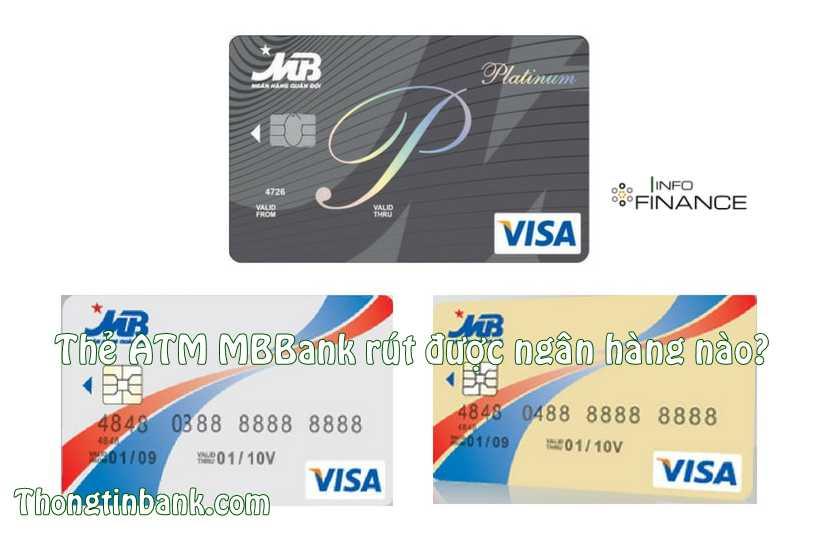 Thẻ MBBank rút được ở ngân hàng nào