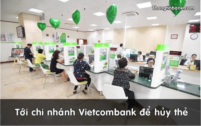 cach huy them atm vietcombank