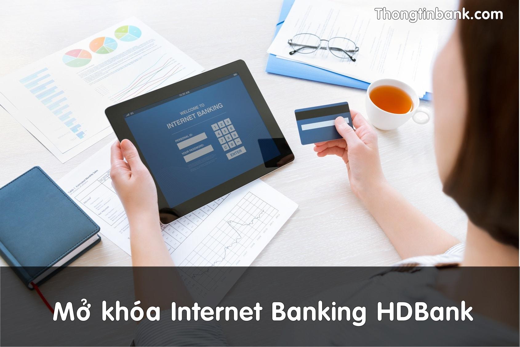 mo khoa internet banking hdbank