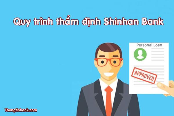 quy trinh tham dinh shinhan bank