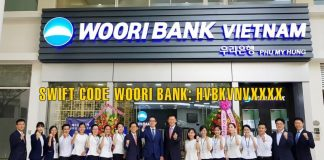 Swift code woori bank
