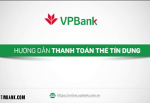 Cach thanh toan du no the tin dung vpbank