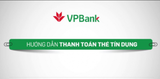 Cach thanh toan du no the tin dung vpbank