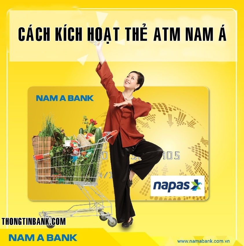 Cach kich hoat the atm nam a bank