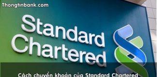 Cach chuyen khoan cua standard chartered