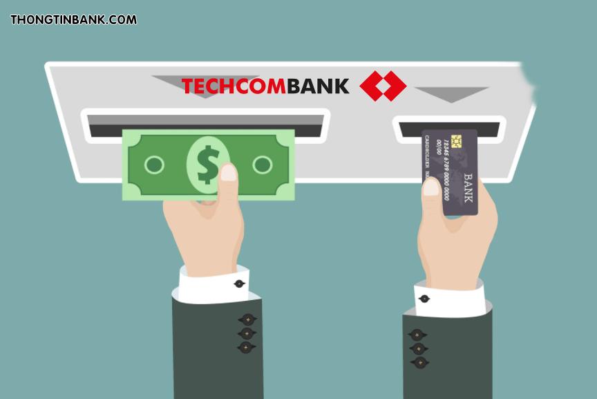 Phi rut tien the tin dung techcombank