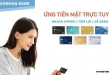 Cach rut tien the tin dung shinhan bank
