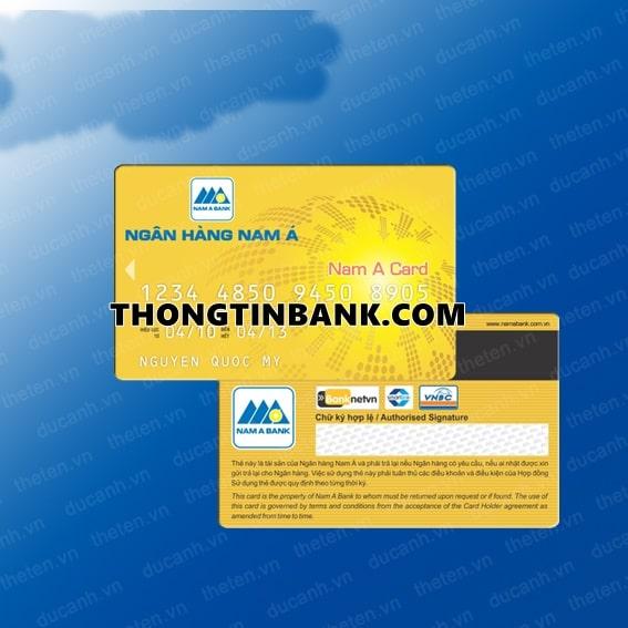 Thanh toan the tin dung nam a bank