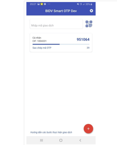 Cach dang ky smart banking bidv online