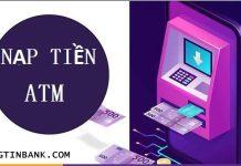 Nop tien truc tiep vao may atm techcombank