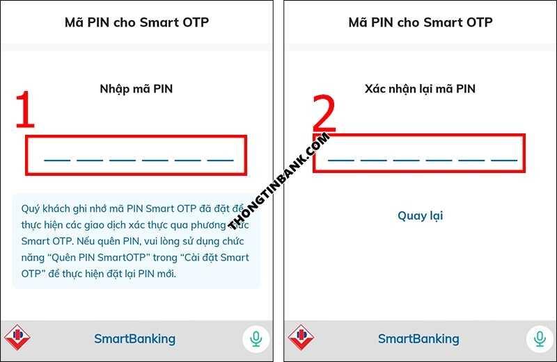 Quen mat khau bidv smart banking