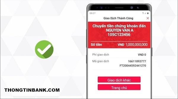 Chuyển tiền từ Techcombank sang BIDV mất bao lâu