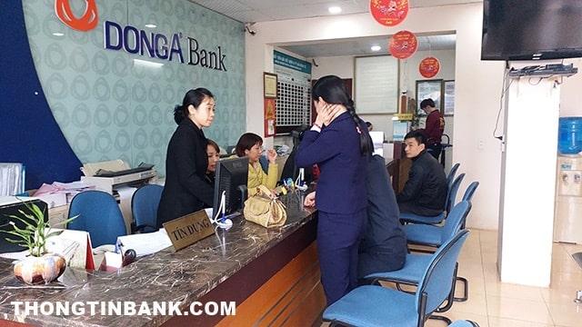 Quên mật khẩu internet banking đông á