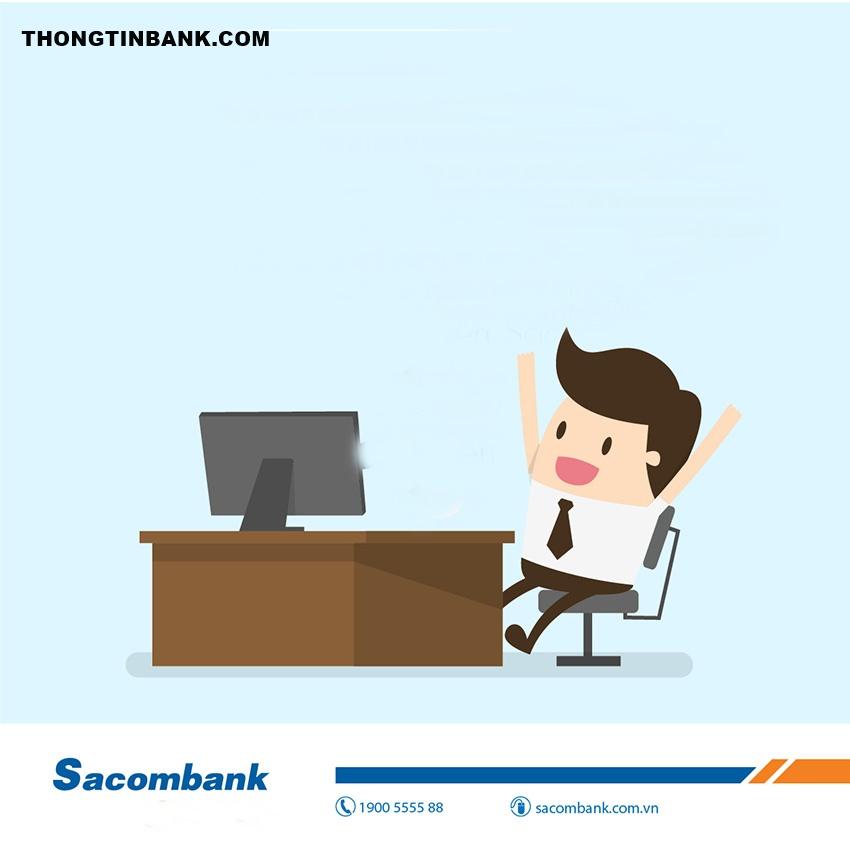 Tài khoản internet banking sacombank bị khóa