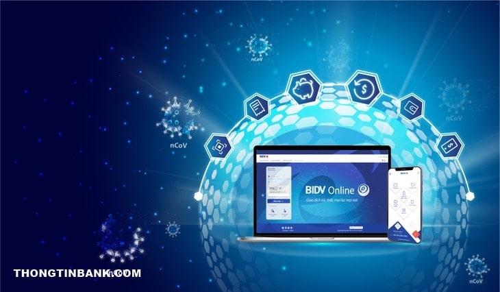 Đăng ký bidv online tại nhà